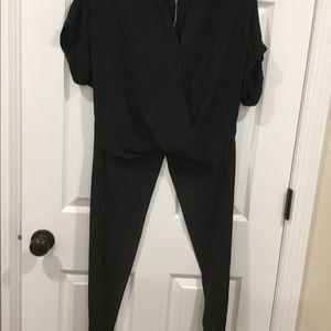 BCBG generation high low shirt black Size XS